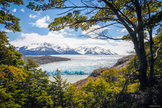 Chile, Glacier Grey, South America, Torres del Paine, glacier