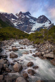 Paine Grande, Torres del Paine, Chile, Rio Frances, Patagonia