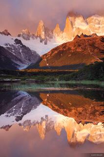 Cerro Poincenot, Chaltén, Patagonia, Argentina