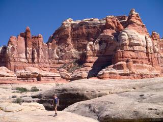Canyonlands National Park, Utah, Needles District, hiking, Elephant Canyon