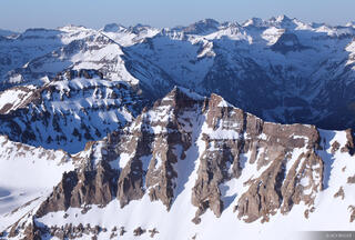 Colorado, Mt. Sneffels, San Juan Mountains, Sneffels Range, Gilpin Peak