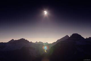 Solar Eclipse over the Sneffels Range