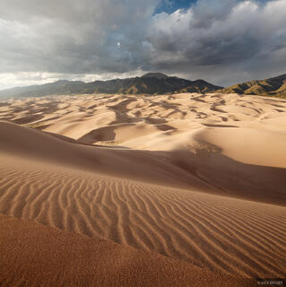 Light in the Sand Dunes