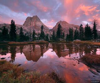 Grenadier Sunrise Reflection