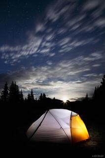 Tentbound Moonrise