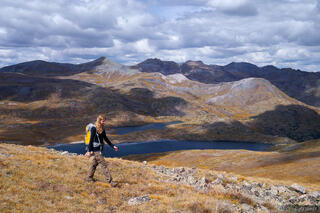 Highland Mary Lakes, San Juan Mountains, Colorado, September, hiking