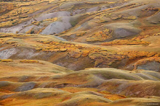 Stony Pass, autumn, tundra, San Juan Mountains, Colorado, September, abstract