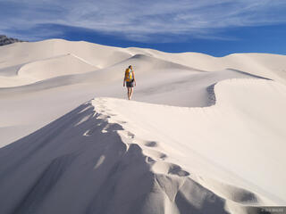 Hiking Eureka Dunes