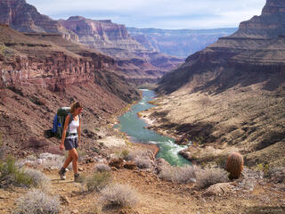 Arizona, Grand Canyon, Colorado River, hiking