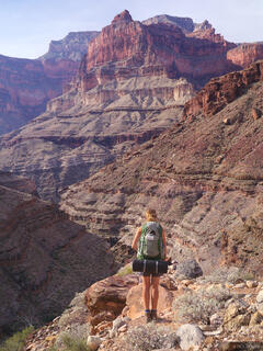 Arizona, Grand Canyon, Tapeats, hiking