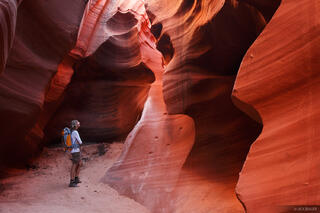 Arizona, Slot Canyon, slot, Page