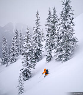Powder, ski, San Juan Mountains, backcountry, Colorado