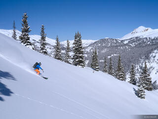 skiing, San Juan Mountains, Colorado