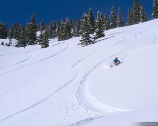 skiing, San Juan Mountains, Colorado