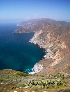 Catalina Island, Trans Catalina Trail, Pacific Ocean