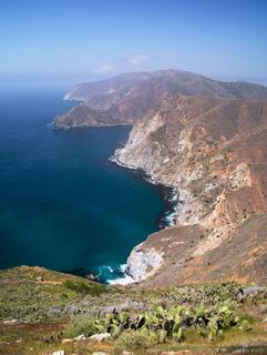 Catalina Island, Trans Catalina Trail, Pacific Ocean
