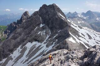 Allgäuer Alps, Germany, Mädelegabel