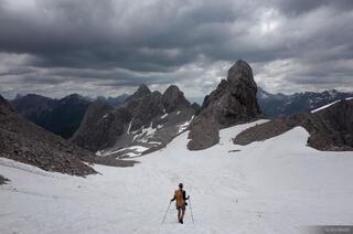 Lechtal Alps, Austria, hiking, Valluga