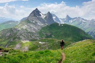 Lechtal Alps, Austria, hiking, Weisschrofenspitze