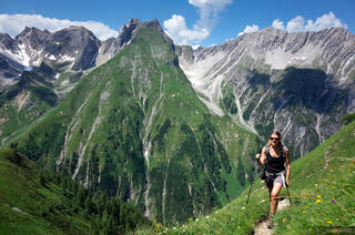 Lechtal Alps, Austria, hiking, Memminger