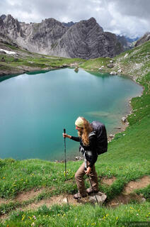 Lechtal Alps, Austria, hiking, Gutelsee