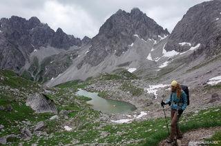 Lechtal Alps, Austria, hiking, Dremelspitze
