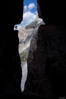 Dolomites, Italy, via ferrata, Salvezza, Strada degli Alpini