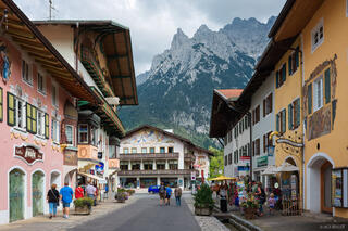 Germany, Mittenwald, Bavaria, Karwendel