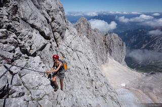 Zugspitze, Wetterstein, Germany, klettersteig
