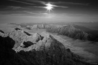 Europe, Germany, Zugspitze, moon, moonlight