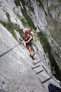 Zugspitze, Wetterstein, Germany, klettersteig, Brett