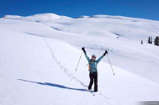 San Juan Mountains, Colorado, skiing