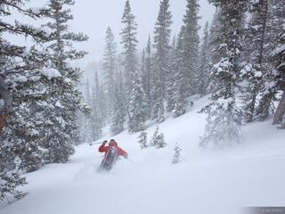 Colorado,San Juan Mountains, skiing