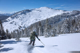 Colorado, Fowler Hilliard Hut, Gore Range, January, skiing