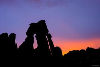 Druid Arch Silhouette