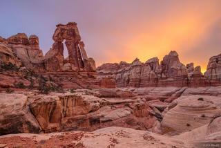 Druid Arch Sunset