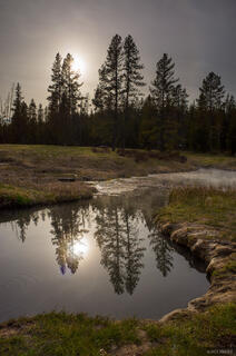 Wyoming, Yellowstone, Huckleberry Hot Springs