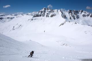 Colorado,Mt. Sneffels,San Juan Mountains,Sneffels Range, skiing