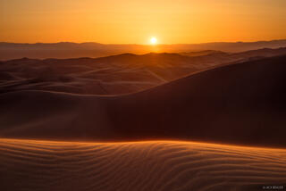 Sunset in the Great Sand Dunes