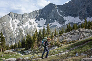 Backpacking to Lily Lake
