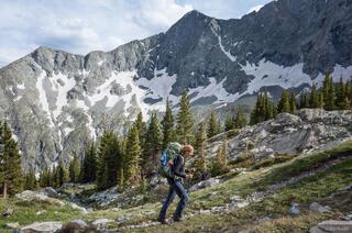 Blanca Peak, Colorado, Sangre de Cristos, hiking, Lily Lake