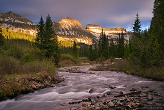 Cimarrons,Colorado,San Juan Mountains, Redcliff, Coxcomb, West Fork, sunset