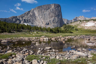 Mount Hooker,Wind River Range,Wyoming, Baptiste Creek