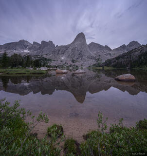 Cirque of the Towers,Pingora Peak,Wind River Range,Wyoming, Lonesome Lake