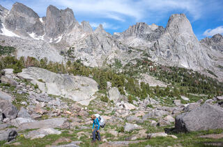 Cirque of the Towers,Pingora Peak,Wind River Range,Wyoming, hiking