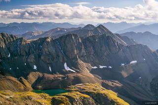 14er,Colorado,Handies Peak,San Juan Mountains, Sloan Lake, Jones Mountain, Niagara Peak