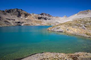 Colorado,Columbine Lake,San Juan Mountains, September