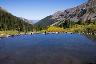 Colorado, Conundrum Hot Springs, Elk Mountains, Maroon Bells-Snowmass Wilderness