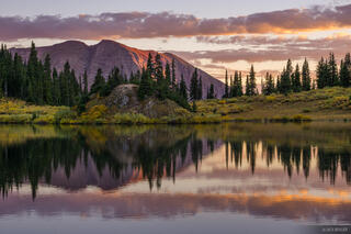 Colorado, Copper Lake, Elk Mountains, Maroon Bells-Snowmass Wilderness