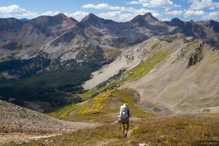 Colorado, Elk Mountains, Maroon Bells-Snowmass Wilderness